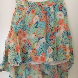 High-low Candies Skirt